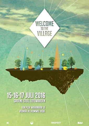 flyer Welcome to the Village