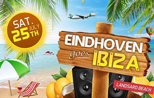 Eindhoven goes Ibiza (flyer)