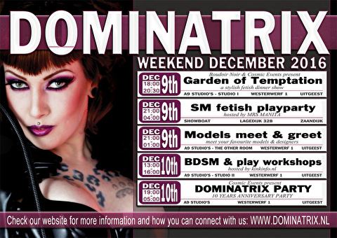 Dominatrix (flyer)