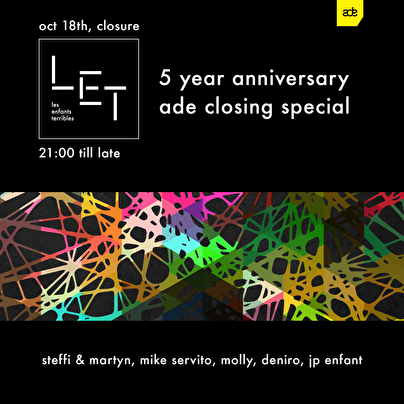flyer LET 5 Year Anniversary