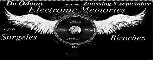 Electronic Memories (flyer)