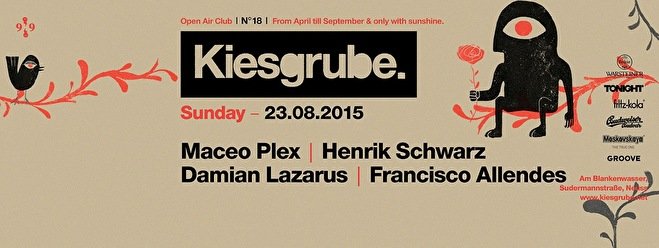 Kiesgrube Open Air Club (flyer)