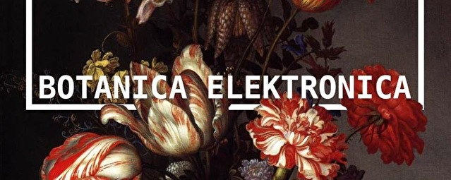Botanica Elektronica // Freek Strano (flyer)