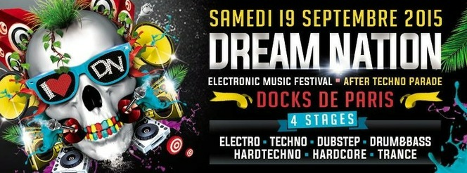 flyer Dream Nation Festival