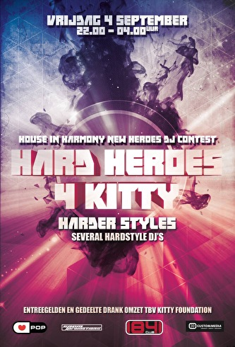 Hard Heroes 4 Kitty (flyer)