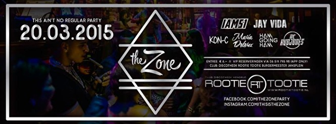 The Zone x FriendZone (flyer)