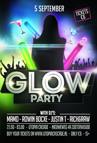 Glow Party (flyer)