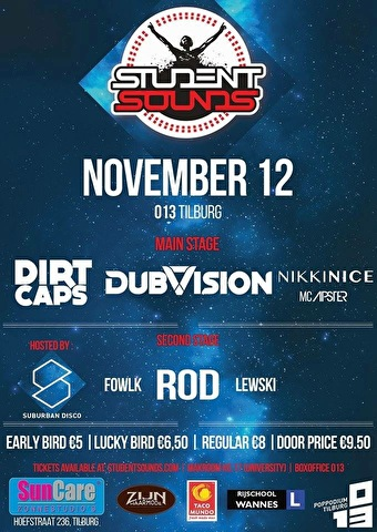 Student Sounds (flyer)