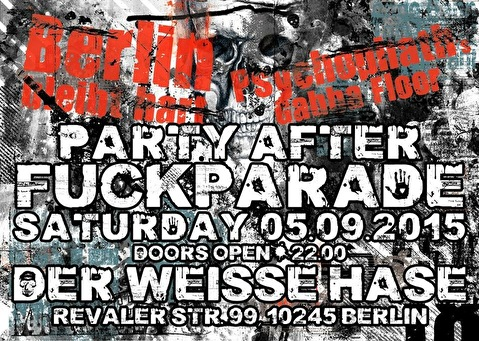 Party After Fuckparade (flyer)