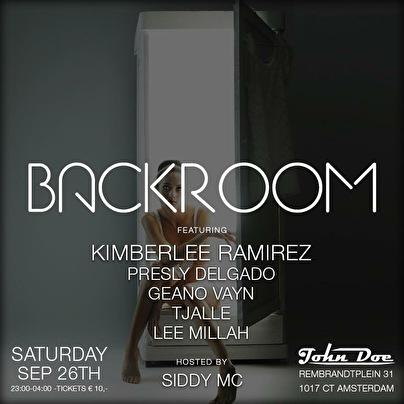 Backroom (flyer)