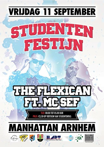 Studentenfestijn! (flyer)
