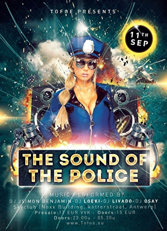The sound of the Police (flyer)