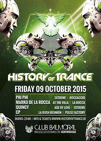 History Of Trance (flyer)