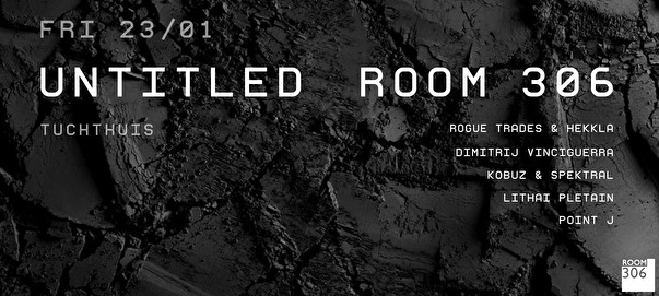 Untitled x Room 306 (flyer)