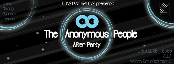 The Anonymous People Afterparty (flyer)