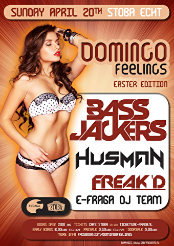 Domingo Feelings (flyer)