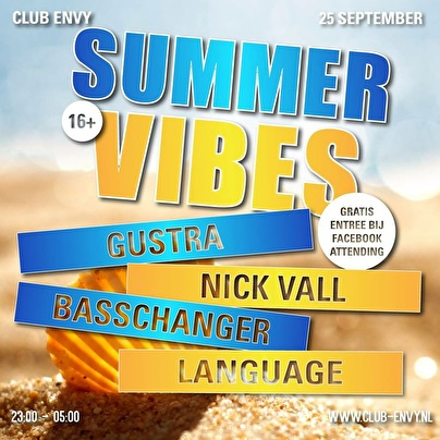 End of summer vibes (flyer)