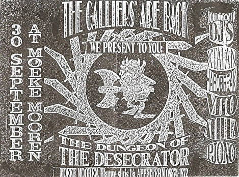 The Galliers are Back (flyer)