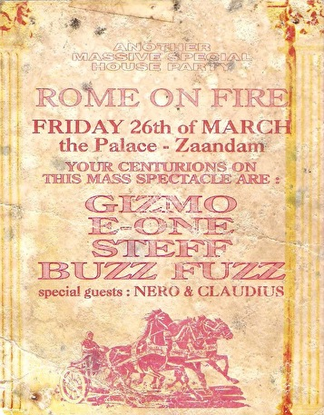 Rome On Fire (flyer)