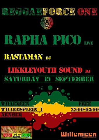 ReggaeForce One (flyer)