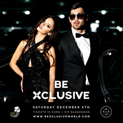 Be Xclusive (flyer)