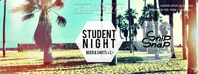 Student Night (flyer)