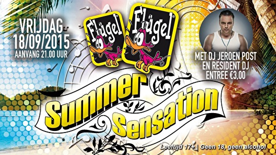 Flugel Summer Sensation (flyer)