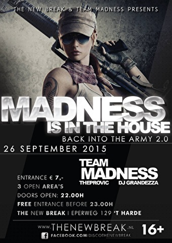 Madness is In the House (flyer)