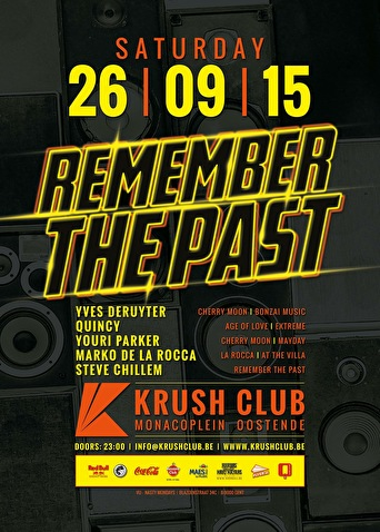 Remember The Past (flyer)