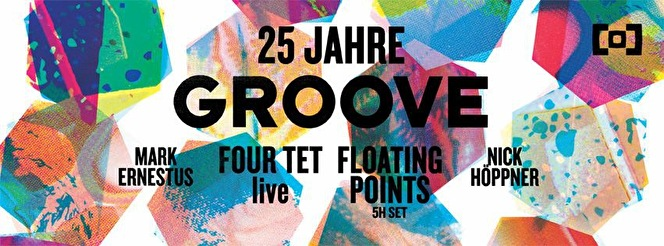 25 Jahre Groove (flyer)