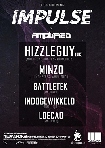Impulse x Amplified (flyer)