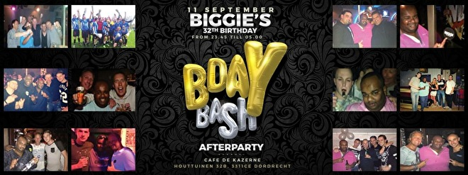 Biggi's Bday After (flyer)