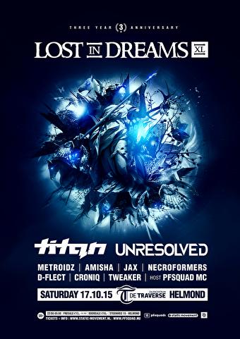 Lost in Dreams XL (flyer)