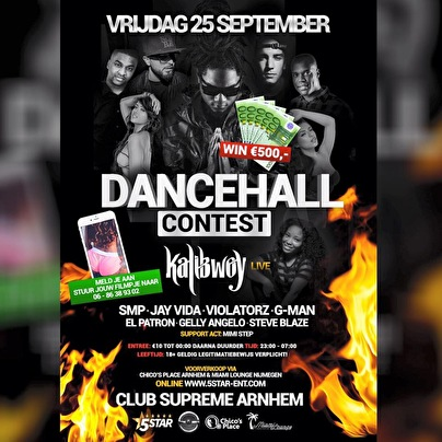 Dancehall Contest (flyer)