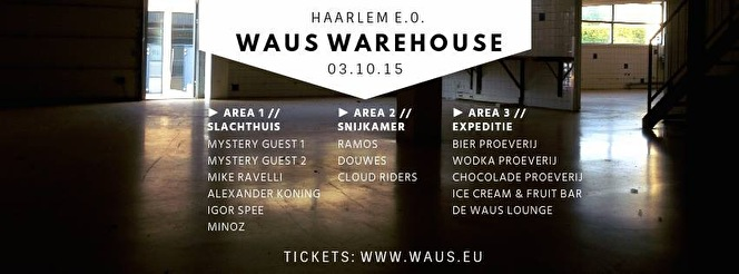 Waus Warehouse (flyer)