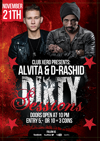 Dirty Sessions (flyer)