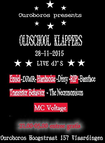Oldschool Klappers (flyer)