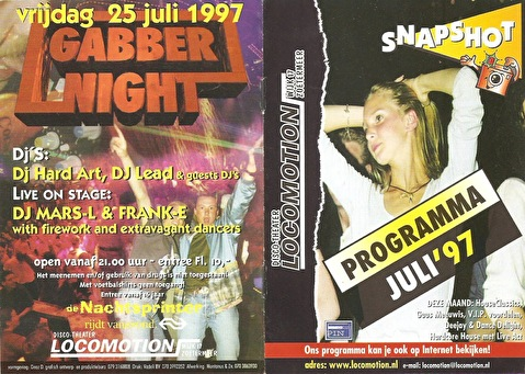 Gabber Night (flyer)