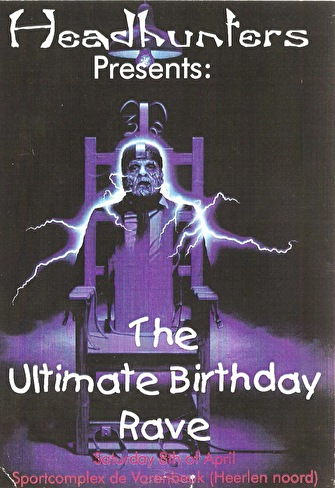 The Ultimate Birthday Rave (flyer)