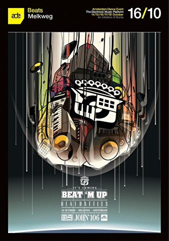 Beat M Up Kickoff (flyer)