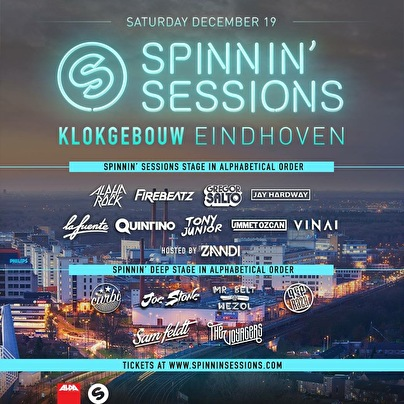 Spinnin' Sessions (flyer)