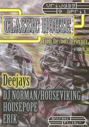Classic House (flyer)