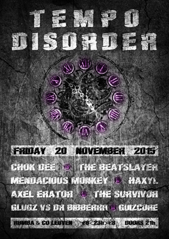 Tempo Disorder (flyer)