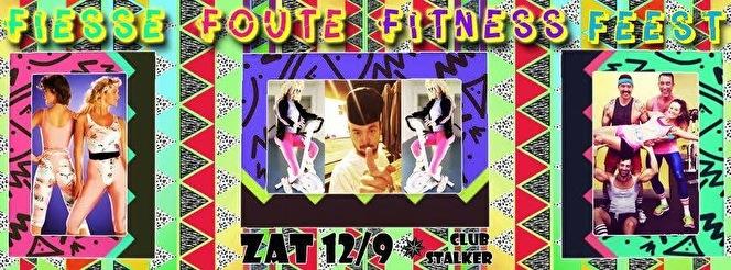Fiesse Foute Fitness Feest (flyer)