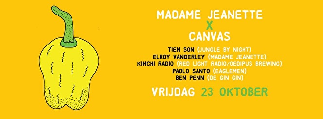 Madame Jeanette x Canvas (flyer)