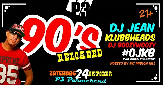 90's Reloaded (flyer)