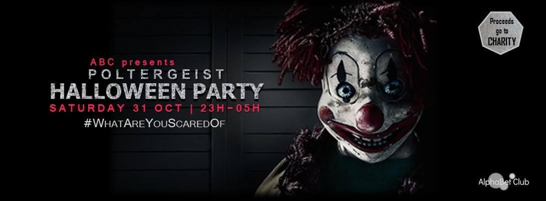 Poltergeist Halloween party · 31 October 2015, Sugarfactory ...