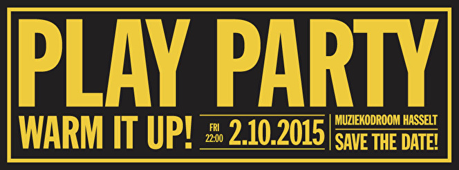 Play Party (flyer)