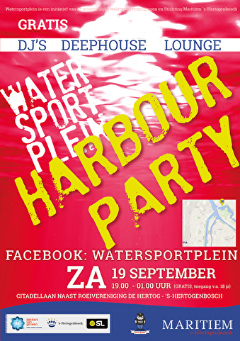 Harbour Lounge Party (flyer)