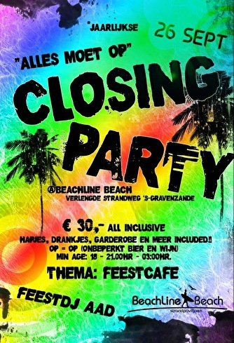 Closing Party BeachLine (flyer)